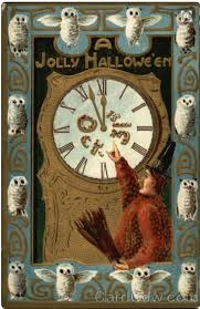 228 best halloween postcards images on pinterest happy halloween