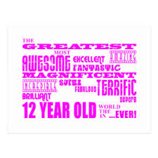 12 year old birthday cards u0026 invitations zazzle co uk