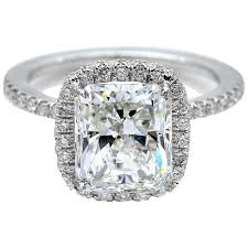 engagement rings sale hrd certified 3 04 carat radiant cut diamond engagement ring for