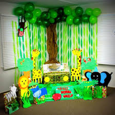 jungle birthday party jungle decorations for home home design studio