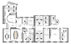 plan des bureaux aménagement de bureaux le de buromédia