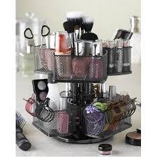 hair and makeup organizer cosmetic organizer carousel makeup storage vanity hair nifty metal