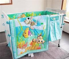 nemo ocean baby crib bedding set quilt bumper sheet crib skirt