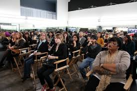 los angeles makeup school ve neill does live demo at cinema open house make up artist magazine