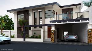 Simple Two Storey House Design by Residential House Design