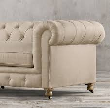 Restoration Hardware Kensington Leather Sofa Kensington Upholstered Sofa