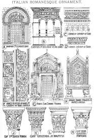 characteristics of romanesque architecture ii romanesque