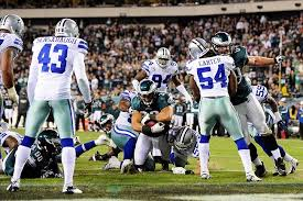 early thanksgiving as dallas cowboys feast on eagles