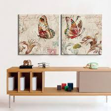 aliexpress com buy cuadros butterfly canvas art painting prints