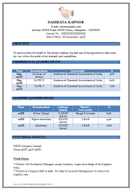 Simple Resume Sample Format by Resume Format For Freshers Simple