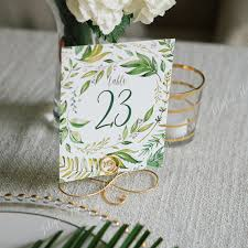 wedding table number holders set of 15 large gold wedding table number card holders menu