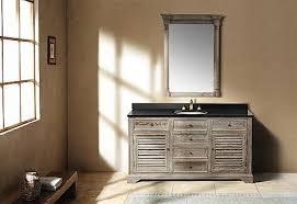 Reclaimed Wood Vanity Bathroom Bathroom The Weathered Gray Reclaimed Wood Vanity Within Ideas