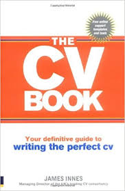 cv uk the cv book your definitive guide to writing the cv