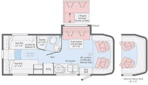 Type B Motorhome Floor Plans View Floorplans Winnebago Rvs