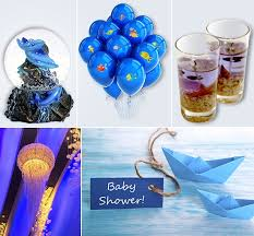 the sea baby shower decorations magical and awesome the sea baby shower ideas