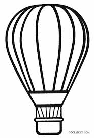 absolutely design air balloon coloring page printable pages
