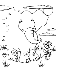 connect kids coloring pages part 2 48 dottodot coloring