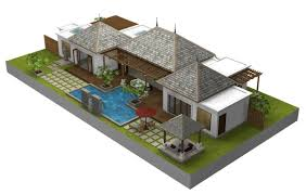 Home Design 3d Vs Sweet Home 3d by Bali Style House Floor Plans U2013 Styles Of Homes With Pictures