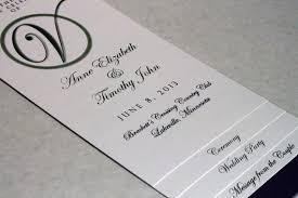 wedding program stationary diy layered wedding program template circle initial design w