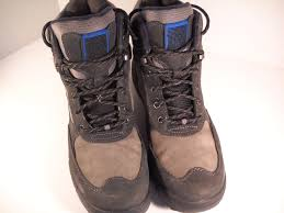 rockport boots size 7 5 waterproof leather uppers rubber soles