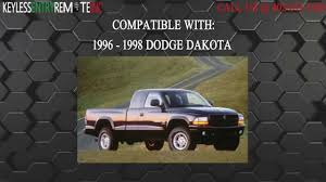 dodge dakota key fob how to replace dodge dakota key fob battery 1996 1998