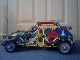 crash test siege auto 2013 knex car with large trunk space crash test