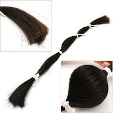 viola hair extensions 170g violin part hair black bow hair for violin viola cello