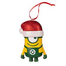 despicable me minion ornament with santa hat universal orlando