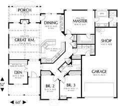 single story open floor house plans single story open concept house plans