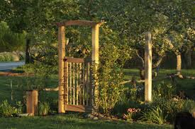 Wooden Trellis Plans Garden Arch Trellis Plans Home Outdoor Decoration