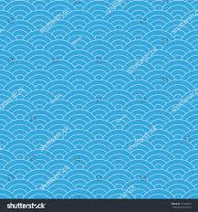 wave blue pattern wave background vector stock vector 371944813