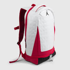 jordan retro 13 jordan retro 13 backpack white red