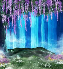 backdrops beautiful 300 600cm 10ft 20ft waterfall newborn photography props blanket
