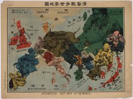 Map Of World War 1 world war i propaganda maps in the national library of russia