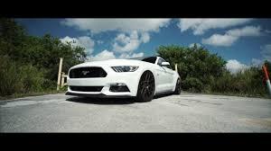 White Mustang With Black Wheels 2016 Mustang Gt Oxford White On Velgen Wheels Vmb7 Satin Bronze