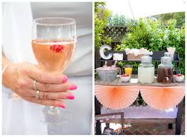 Pink Cocktails For Baby Shower - a real life sweet as honey baby shower beau coup blog