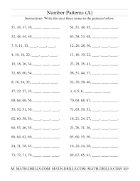 Grade 7 Worksheets Math Number Square Puzzles Number Worksheets Puzzle 6 Number