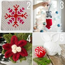 free christmas crochet patterns to start now make u0026 do crew