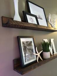 Wood Shelf Designs by Best 25 Ledge Shelf Ideas On Pinterest Photo Ledge Display