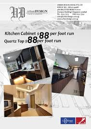 kitchen cabinet per foot run kitchen