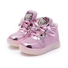 Kids Light Up Shoes Girls Kids Hello Kitty Baby Led Light End 6 2 2018 5 15 Pm