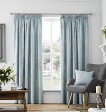 Floral Lined Curtains Floral Lined Curtains Flora 100 Cotton Ready Made Top