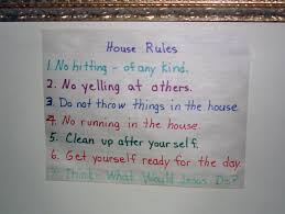 Family House Rules Houserules Printable Chart House Rules For Kids This Is Your