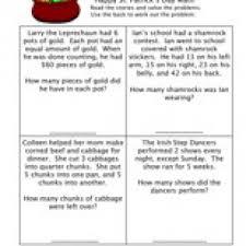 Havefunteaching Com Math Worksheets St S Day Math Worksheet Teaching
