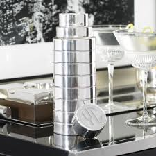 Polo Home Decor by Montgomery Cocktail Shaker Bar Accessories Glassware U0026 Bar