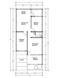House Plans 7x16 House Affair 16 X 50 Floor Plans