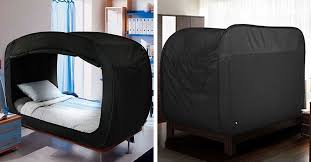 the privacy bed tent newest invention for a good night s sleep bed tent by privacy pop helps you sleep soundly when you re anxious