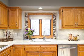 houzz kitchen backsplashes oak cabinet backsplash houzz