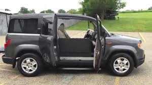 2014 Honda Element 2011 Honda Element Automatic Passenger Side Wheelchair Accessible
