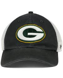 Green Bay Packer Flag Lyst 47 Brand Green Bay Packers Blue Hill Closer Cap In Gray For Men